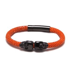 Real Stingray Leather Bracelet